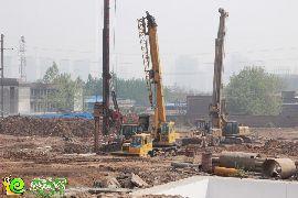 锦绣江南二期施工现场(2015.04.21)