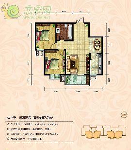 东方新城一期97�O两居室