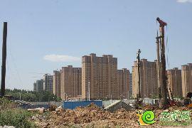 赵都新城12号地实景图(2015.6.12)