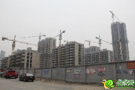盛瑞华庭东区实景图(2015.6.23)