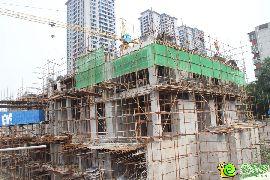 盛锦花园4#楼出地面2层(2015.07.10)