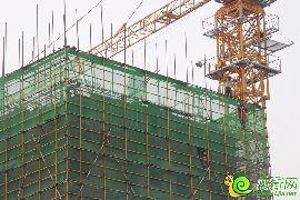 安联钓鱼台壹号项目施工现场(2015.7.9)