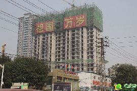 盛锦花园二期4#楼实景图(2015.09.23)