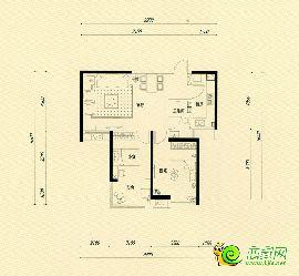 西苑4#楼 中户91�O