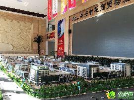 林安智慧商贸物流城售楼部实景图