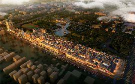 勒泰城鸟瞰图