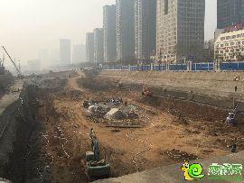 串城街·勒泰城工地实景图(2016.03.16)