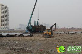 万浩俪城东区工地实景图(2016.2.22)