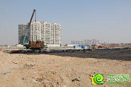 万浩俪城东区工地实景图(2016.2.26)
