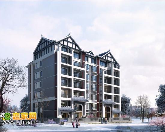 新中式建筑 用传统建筑符号书写现代生活