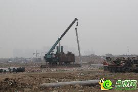 万浩俪城东区工地实景图(2016.4.12)