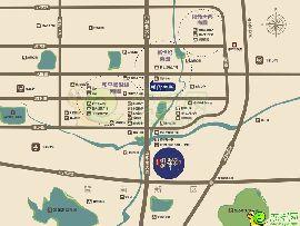 碧桂园·翡翠郡区位图