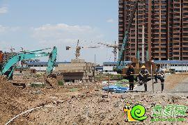 万浩俪城三期工地实景图(2016.05.15)