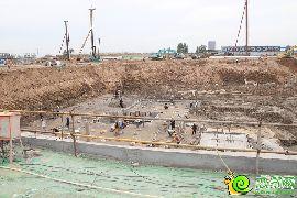 荣盛观邸项目工地实景图(2016.5.25)