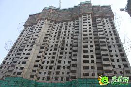 锦绣江南16#楼已封顶
