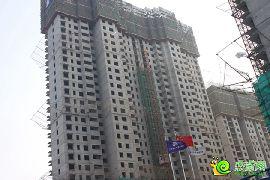 锦绣江南11#楼已封顶