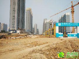 万浩俪城东区工地实景(2016.6.19)