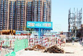 万浩俪城东区工地实景(2016.6.25)