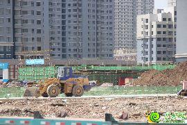 万浩俪城工地实景图(2016.6.14)