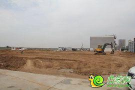 万浩红玺城工地实景图(2016.6.11)