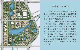 月爱湖CBD平面图