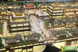 勒泰城沙盘实景图