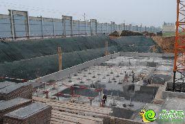万浩红玺城工地实景图(2016.7.8)