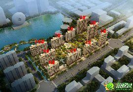 万浩红玺城鸟瞰图