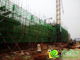 华北汽车城最新施工实景图(2016.08.17)