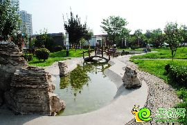 锦绣江南园林示范区实景图