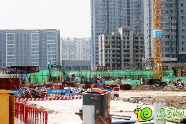 万浩俪城施工实景图(2016.8.26)