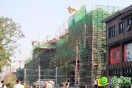 勒泰城工程进度(2016.8.27)