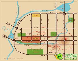 百家新城·尚苑区位图