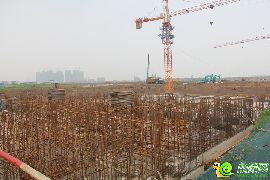 万浩红玺城工地实景图(2016.8.7)