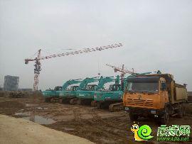 万浩红玺城工地实景图(2016.8.15)