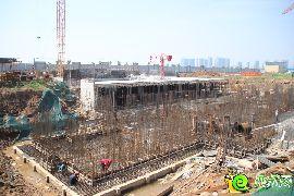 万浩红玺城工地实景图(2016.8.21)