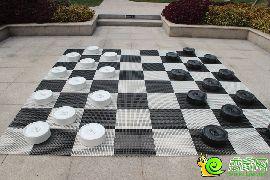 园林实拍黑白棋