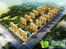 万浩新城鸟瞰图