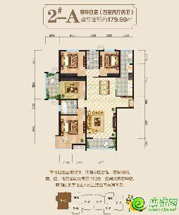 东方新城二期2#楼179.6�O