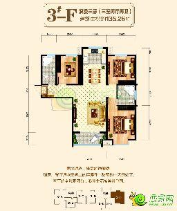 东方新城二期3#楼135.26�O