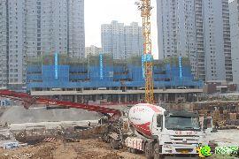万浩俪城施工实景图(2016.9.23)