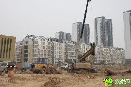 荣盛·锦绣兰庭工地实景图(2016.9.27)