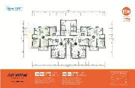 15号楼户型平面图