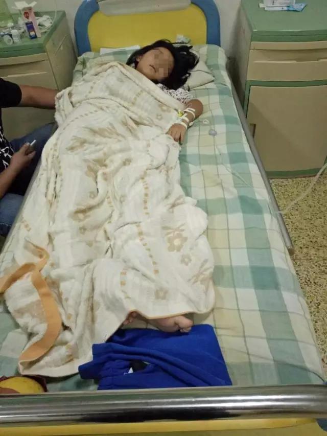 北一学校学生集体住院,食堂被查封学生发烧、
