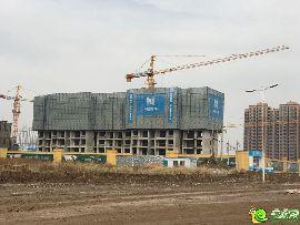 万浩俪城施工实景图(2016.11.1)