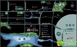 翡翠湾区位图