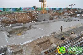万浩红玺城工地实景图(2016.11.22)
