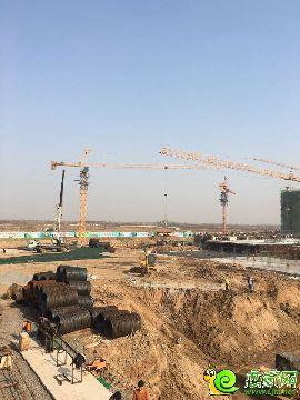 万浩红玺城工地实景图(2016.11.15)