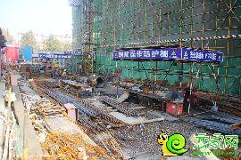 工人在施工中(2016.11.8)
