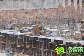 工人施工中(2016.11.10)